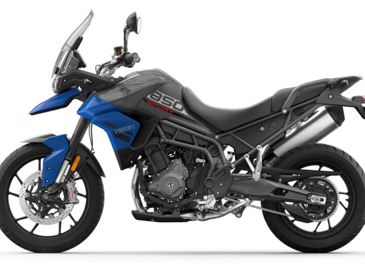 Triumph Tiger 850 Sport Launched in India With New Engine, Known Features and Price